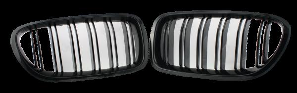 Kühlergrill Niere BMW F10 schwarz glanz