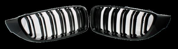 Kühlergrill Niere BMW F32 schwarz glanz